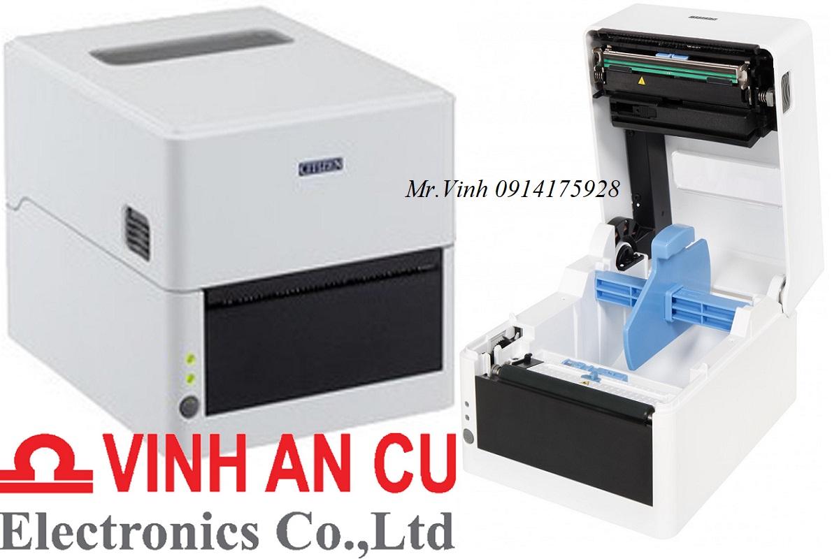 Máy in mã vạch CL-E303, may in ma vach CL-303, Top 10 máy in Citizen để bàn giá rẻ.
