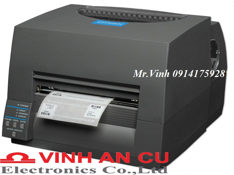 Máy in mã vạch CL-S631, may in ma vach CL-S631
