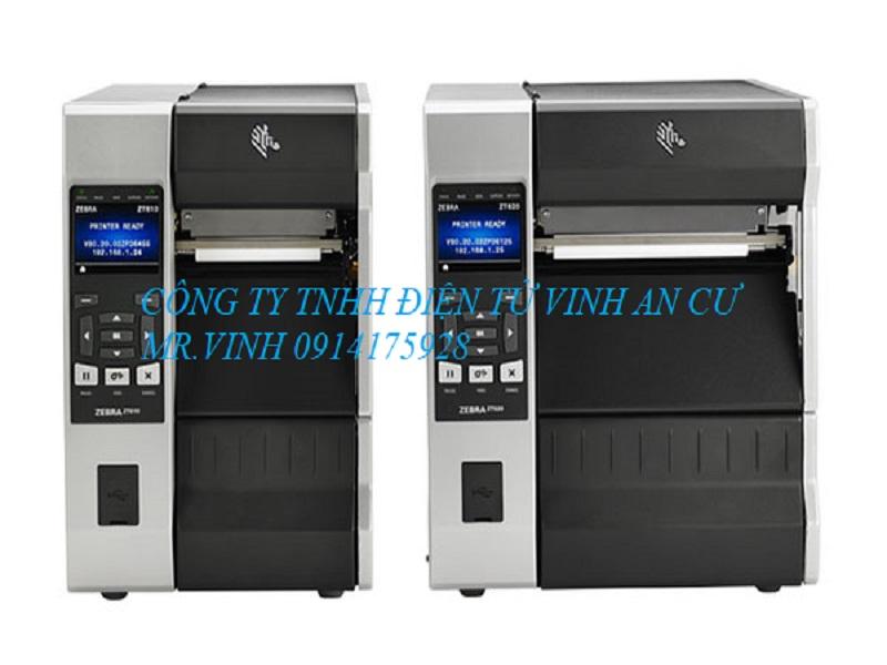 Máy in mã vạch ZT600, Top 10 máy in công nghiệp Zebra giá rẻ